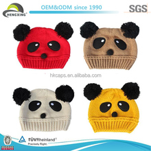 Wholesale Colorful Kids Crochet Knitted Hats Animal
