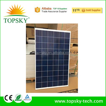 2018 hot sel 260W 265W 270W high efficiency certified UL,TUV,MCS,CE,IEC,ISO poly solar panel solar module for home use low price