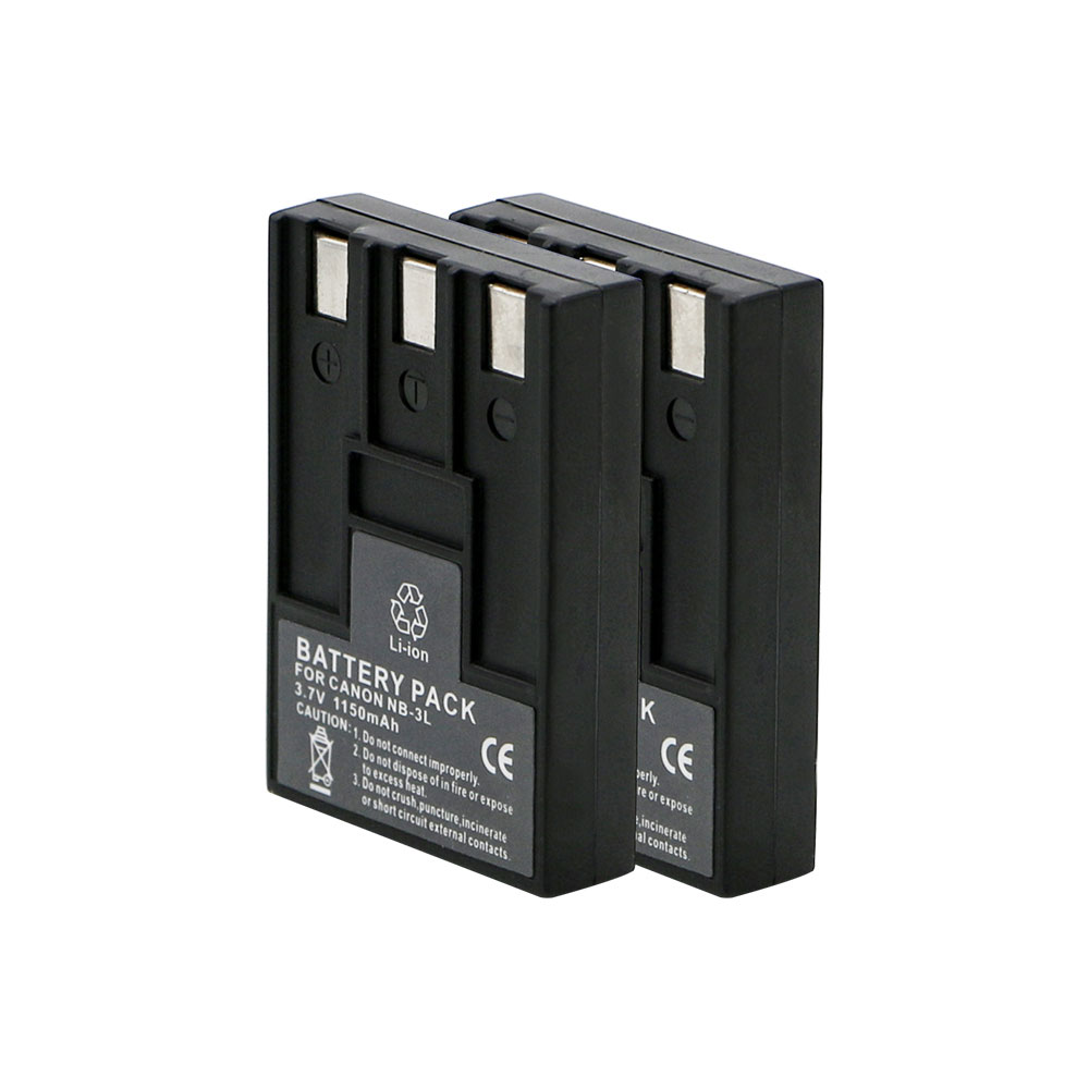 Digital camera battery pack NB-3L for canon SD10 SD20 SD500 SD550