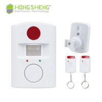 Wireless Pir Motion Sensor Detector Alarm of cheap price for home security