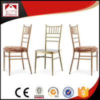 Hot sale aluminum used chiavari chair for sale ET-03A