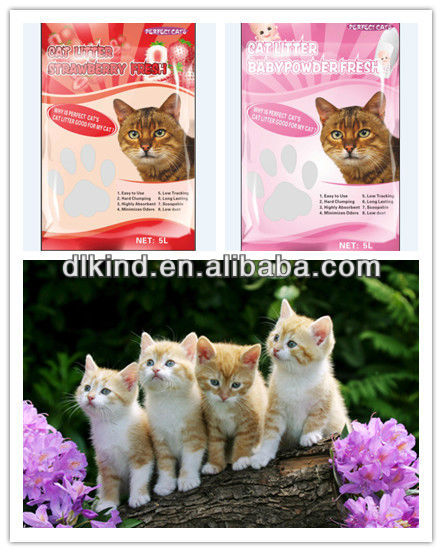 kitty love cat litter ,free sample , cat sand on sale