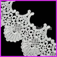 Hot sell african guipure cupion lace george WNL121