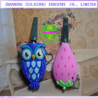 environmental pet nail clippers with more than 200 cartoon design silicone holder