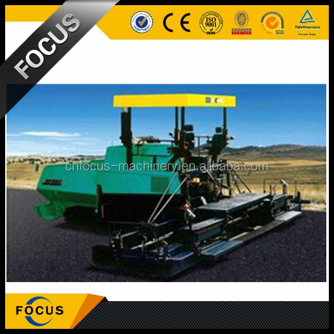 asphalt paver machine with China XCMG manufacturer