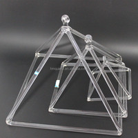 Quartz Crystal Singing Pyramid For Healing