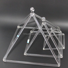 Quartz Crystal Singing Pyramid For Healing and Therapy