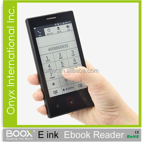 arabic ebook reader with smart phone Android 2.3 wifi bluetooth E43