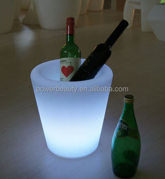 RGB colorchanging lighting cooler bucket/champagne bucket light/champagne bucket led