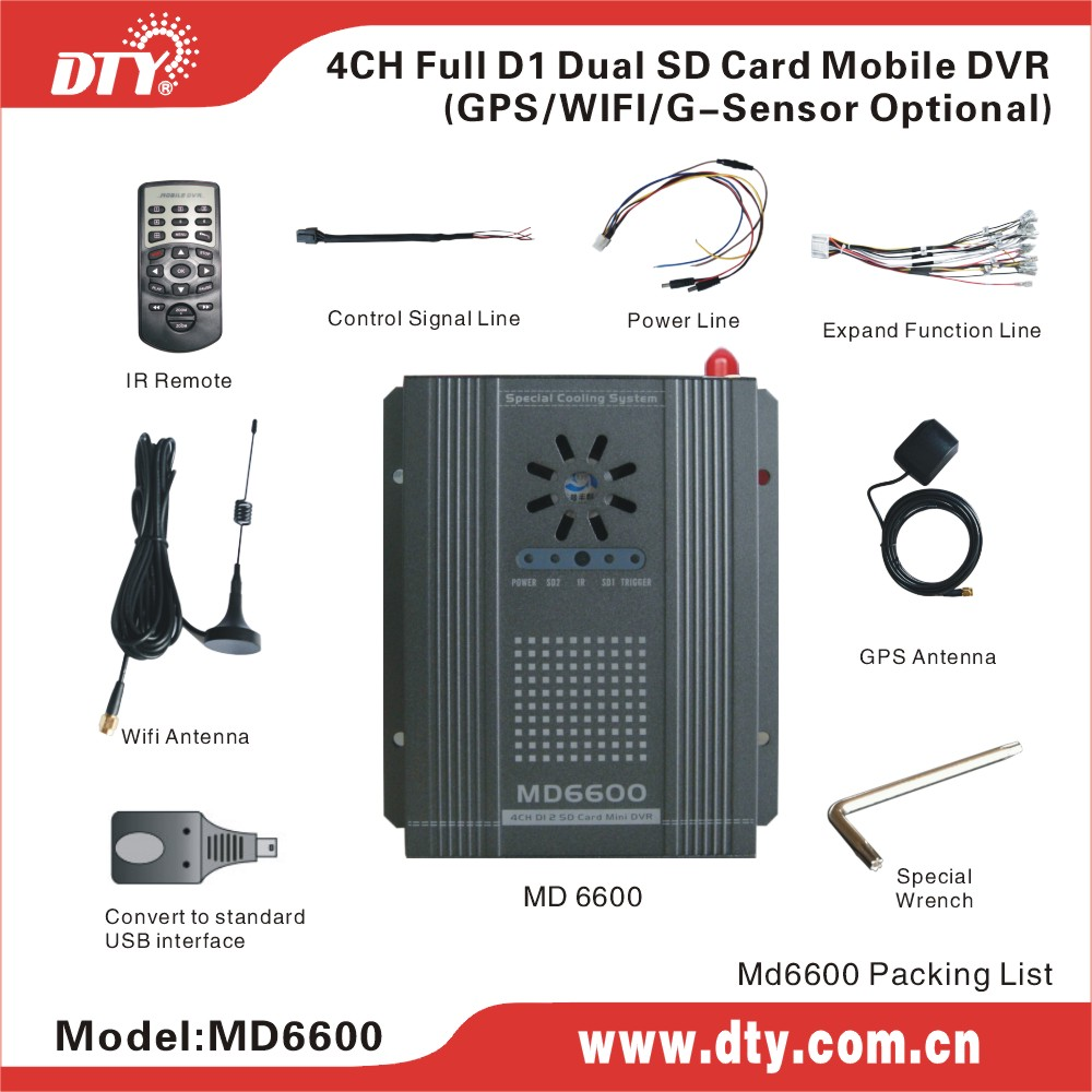 DTY MD6600G 4 channel usb 2.0 dvr video audio capture adapter