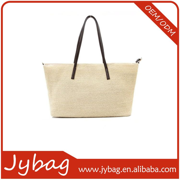 New arrival economic name brand canvas shopping handbag