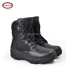 8 inches high cut Oxford military combat shoes for army boots