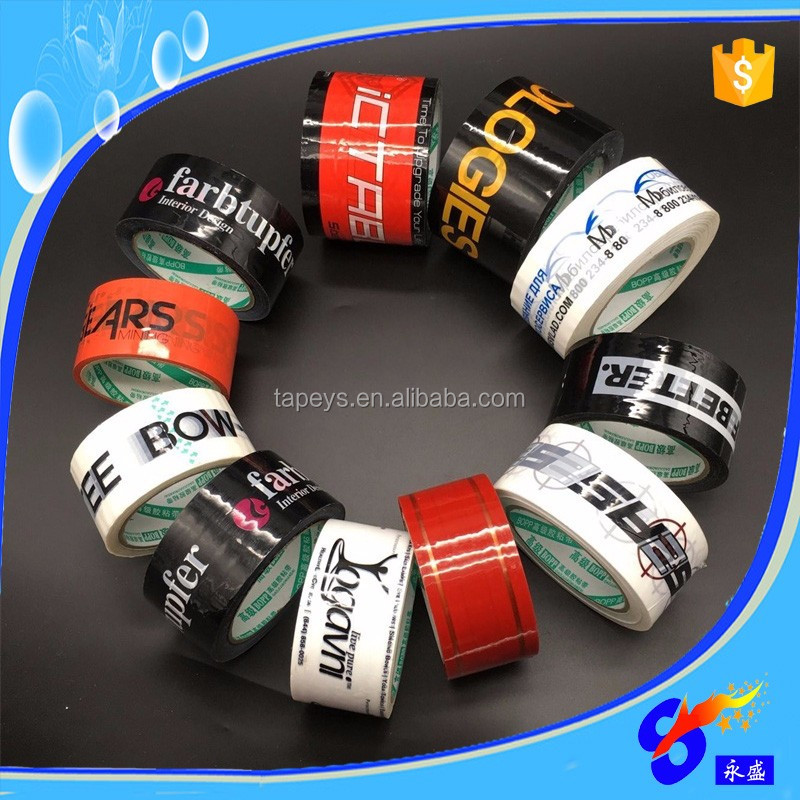 Water-proof custom logo printed OPP masking adhesive packing tape