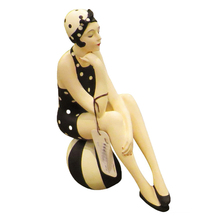 'Bathing Beauty Swimsuit Model Statue Woman Figurine