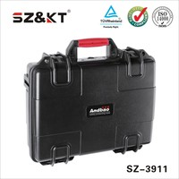 waterproof hard ABS plastic carry case/tool case with EVA foam insert
