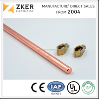 Pure Copper Electrical Grounding and Bonding Rod for Power System