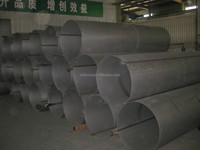 Welding stainless steel pipe