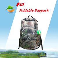 Outdoor Camping Traveling Sport Daypack Foldable Backpack Rain Cover