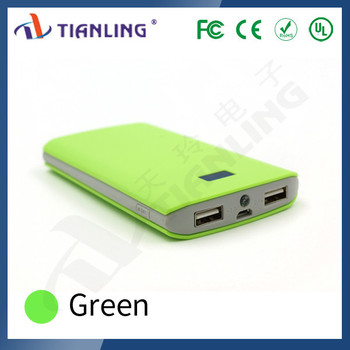 Best selling product in America portable power bank with LCD display