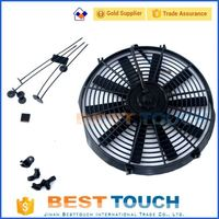 Aluminum Radiator Soarer JZZ30 SC300 JZZ31 91-00 AUTO/MANUAL automobile parts 9'' inch fan used in car for Toyota