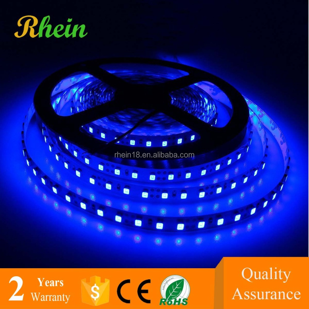 Interior Decoration LED Ring Light 5m/roll water proof blue color 3528 LED Strip