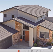 Classic Stone Coated Steel Tile Economical Metal Roofing Tile
