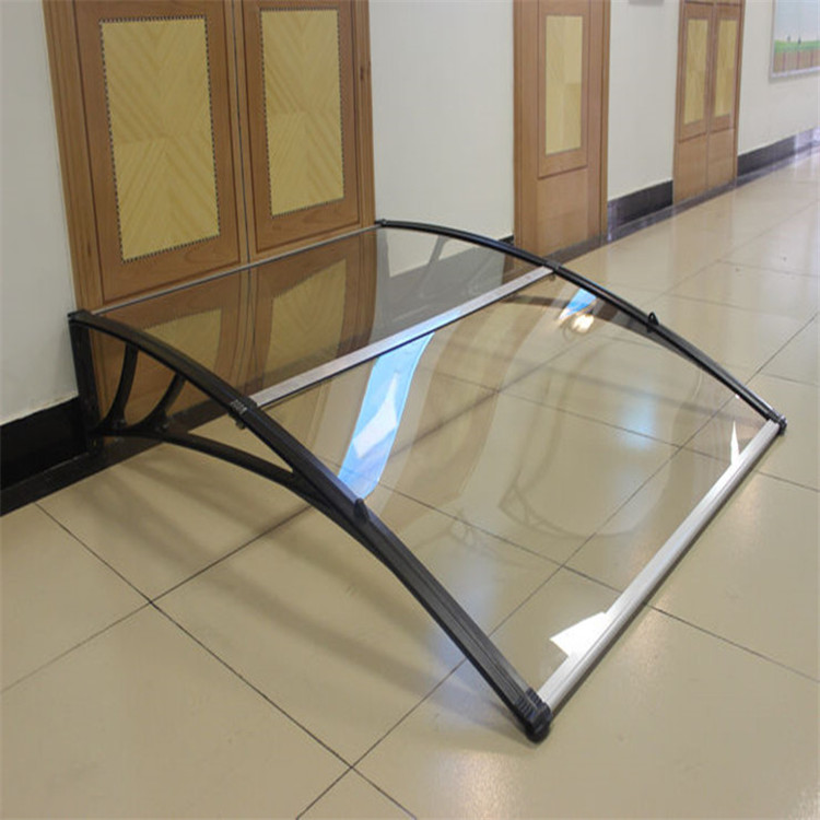 Building material PC assemble awning window and polycarbonate Window door canopy with UV protector