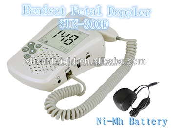 Portable household Fetal Doppler Infant Fetal Doppler CE approved