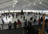 removable Ice Rink tent cover ice word arena