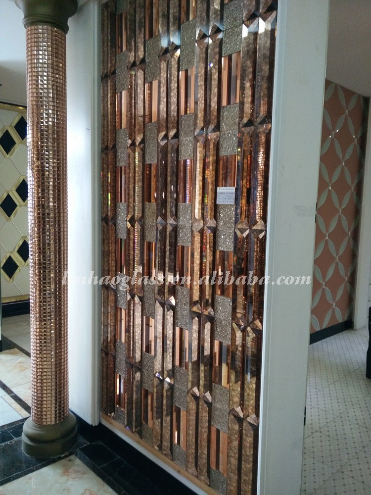 Antique decorative d mirror strips wall buy
