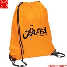 Customized polyester basketball sport bag 210D drawstring backpack