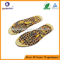 China supplier full length medicated acupuncture point shoe insoles