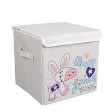 Sturdy Storage Boxes Foldable Storage Bin With Lids Kids 12X12 Storage Bins