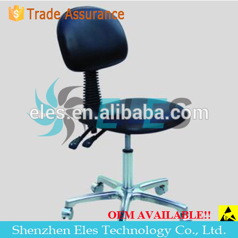 ES17112 high strength die-casting chroming A-alloy five-star-foot stainless steel stool chairs
