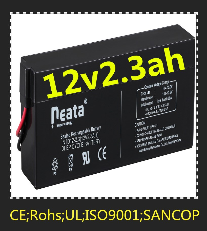 Neata Battery Bluesun deep cycle agm 12v 2.3ah ups inverter battery charger battery