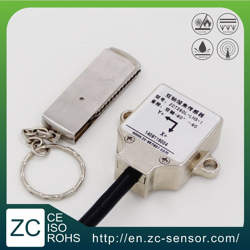 ZC Sensor dual axis 0~10v output analog inclinometer tilt sensor for solar tracker