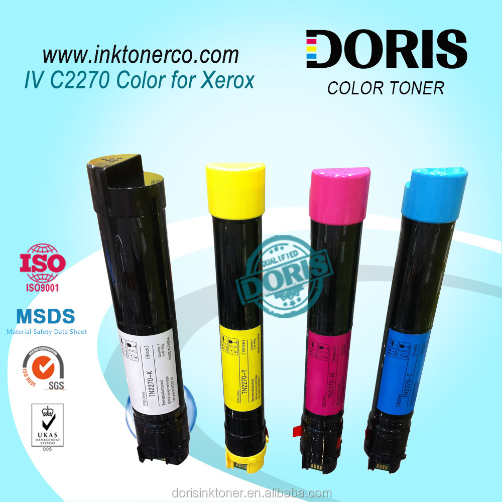 Japan toner refill powder IV C2270 IVC2270 color for DocuCentre IV C2270/3370/4470/5570 photocopy machine
