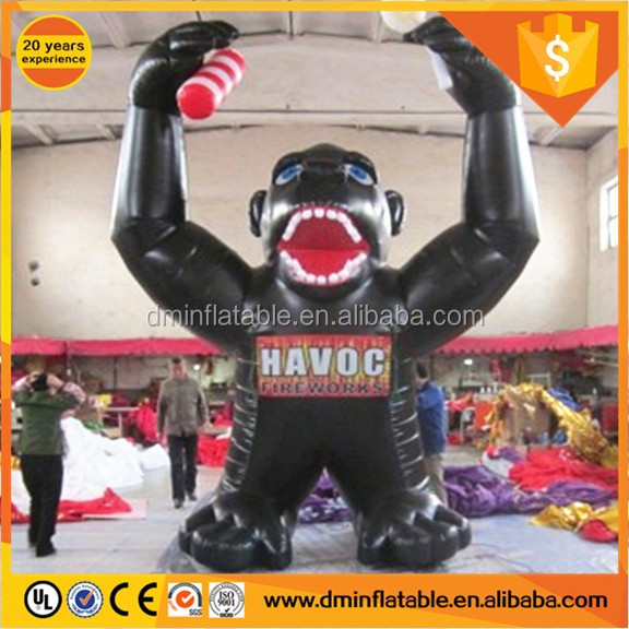 2017 Cheap Inflatable grape baboon inflatable orangutan for sale