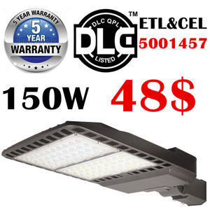 Slip fit Shenzhen UL ETL DLC led shoebox retrofit kit area light 150w led street light 60w 100w 150w 200w 250w 300w