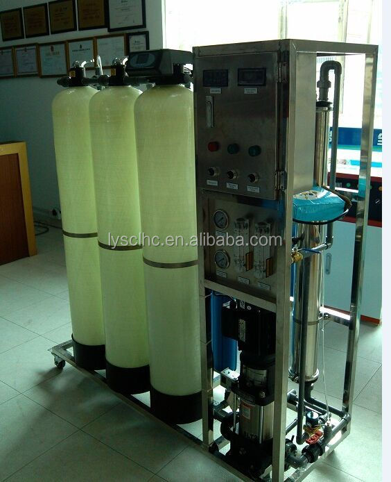 RO Plant 250 LPH water treatment purify price with reverse osmosis system