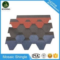 Mosaic roofing shingle sale,building shingles material made in China