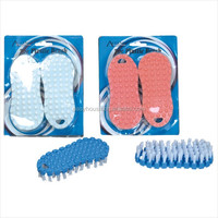 OEM factory produce directly plastic foot scrub cleaning brush