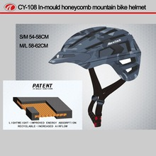 Ultralight bike cycling helmet EPS + PC mountain helmet bicycle safe helmet CY-108
