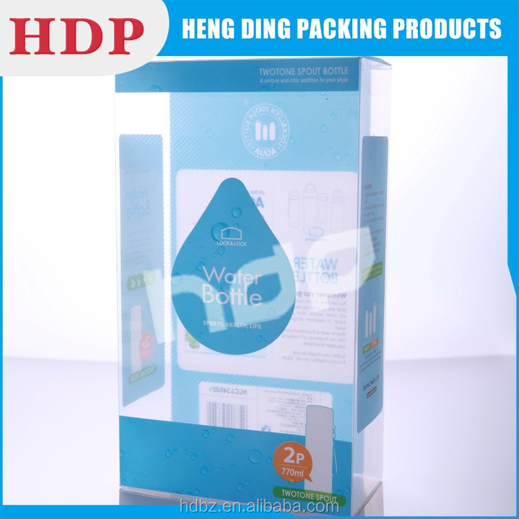 customized clear plastic box China supplier