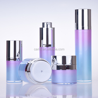 luxury wholesale skincare acrylic plastic cosmetic set container for sale