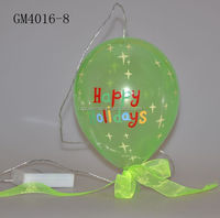 factroy supplier hotsell chinese balloon for halloween decoration with led light