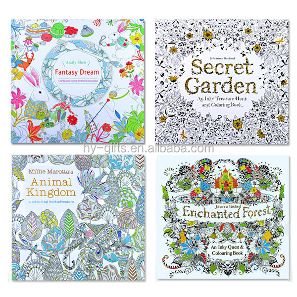 child kids fill coloring book cheap price hot sale secret coloring book