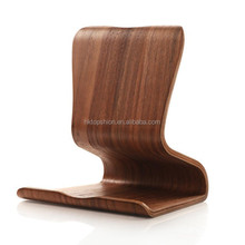 100% eco-friendly tablet wood desktop holder, tablet wooden stand holder for ipad, universal stand