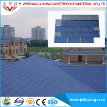 High Quality Harbor Blue Color Asphalt Shingle from Professional Manufacturer
