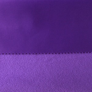 New factory poly tricot brushed 100 polyester super poly 220gsm fabric